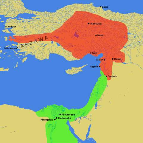 Hittite Empire and Egyptian Empire