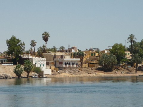 Nubian village on Elephantine Island