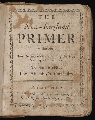 The New-England primer of 1764