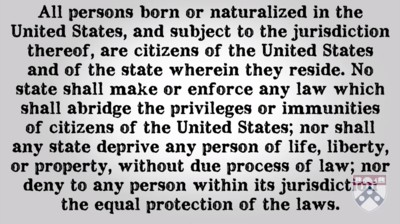 14th Amendment to the Constitution