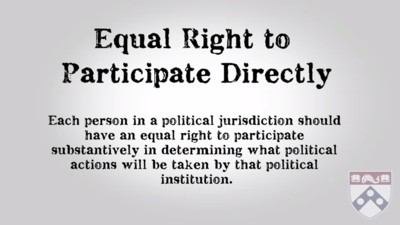 equal right to participate directly