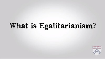 what is egalitarianism