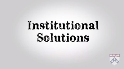 institutional solutions